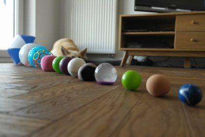 piłki piłeczki