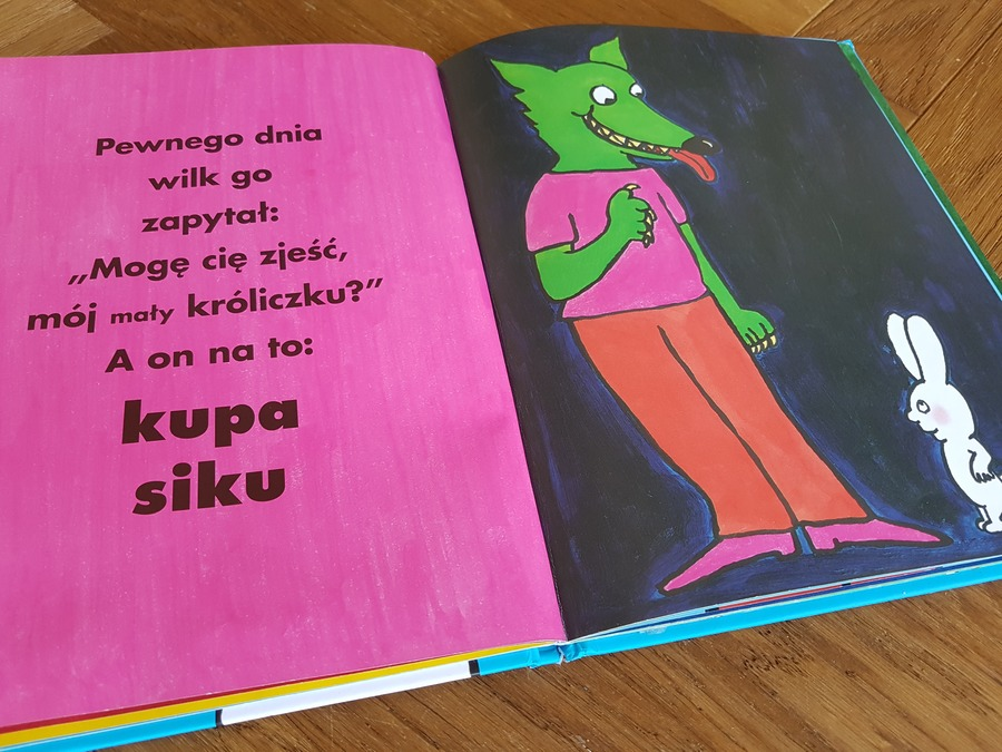 książka dla dzieci kupa siku