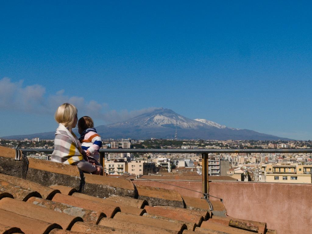 widok na Etnę