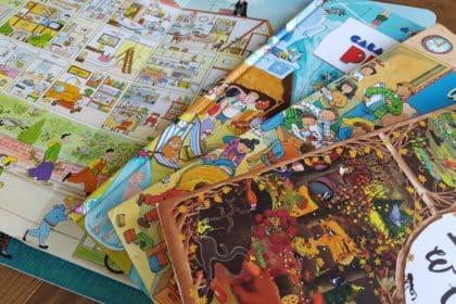książki dla dzieci na spostrzegawczość wyszukiwanie