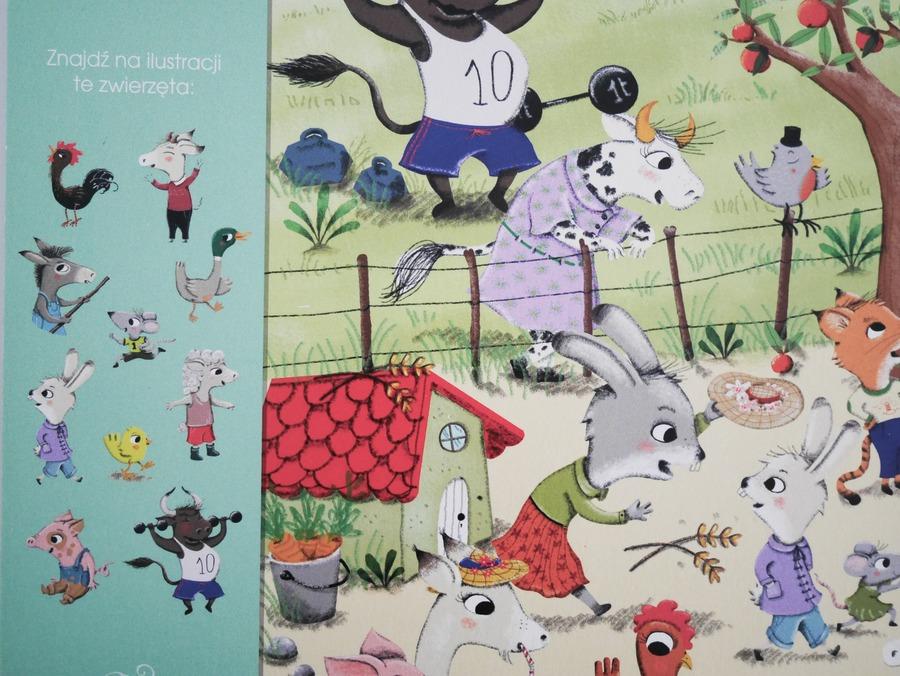 książka ze zwierzętami