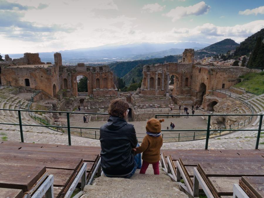 amfiteatr w taorminie
