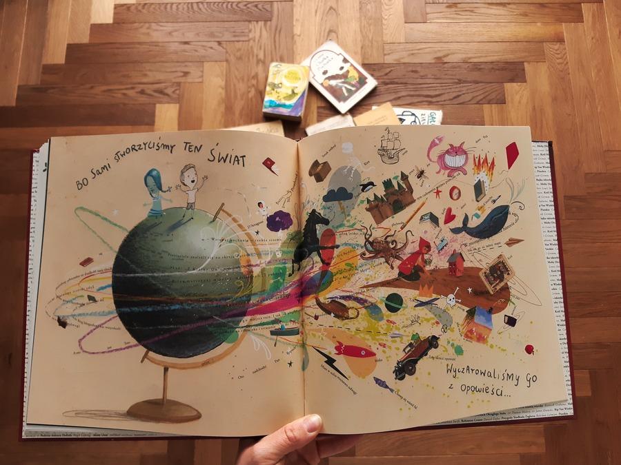 książka dla dzieci o zaletach czytania