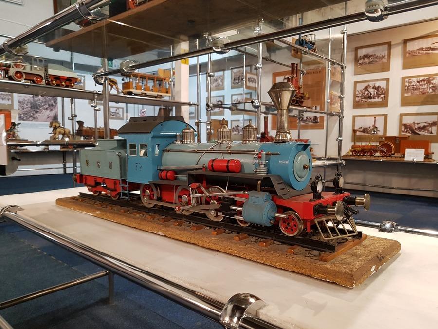 muzeum z pociągami dla dzieci