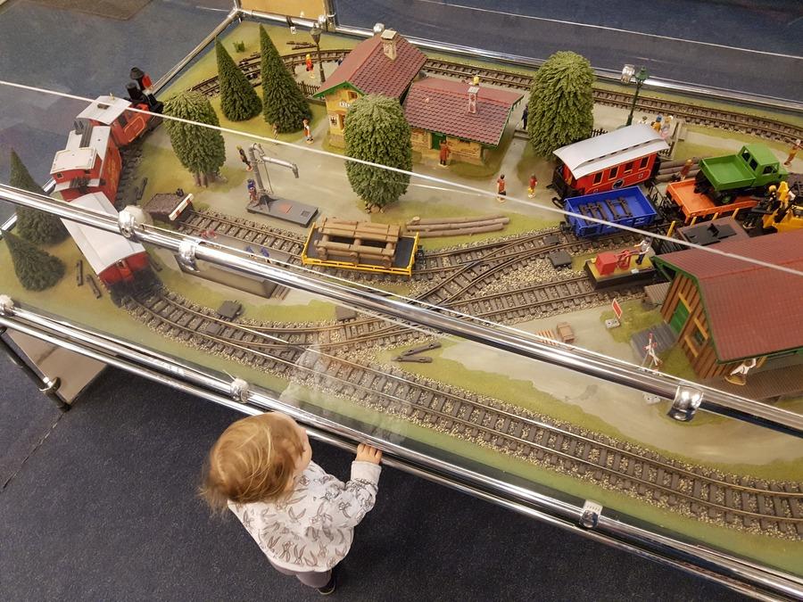 pociągi dla dzieci w warszawie