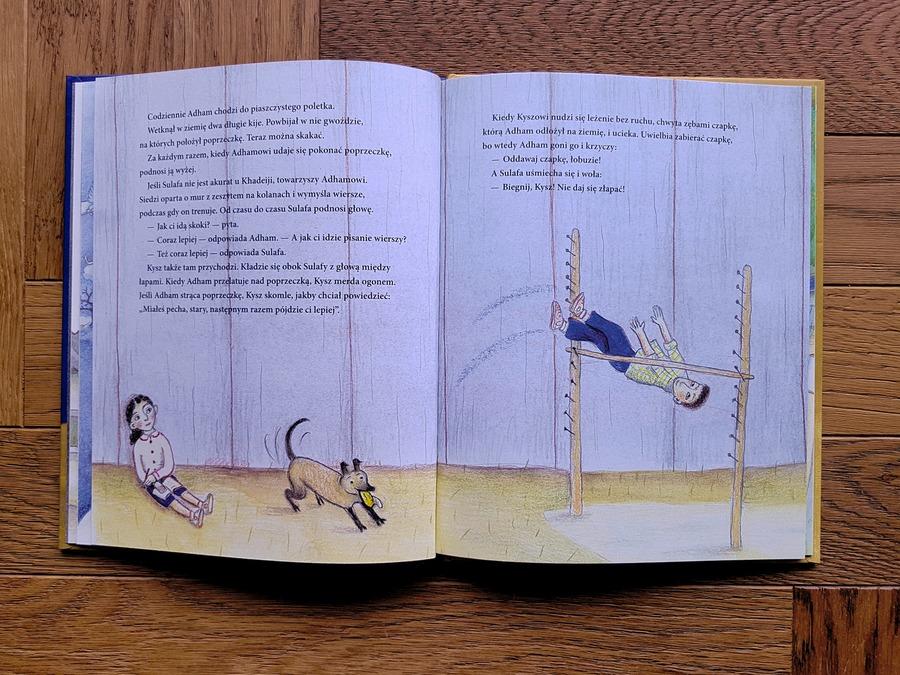 Chlopiec, dziewczynka i mur książka