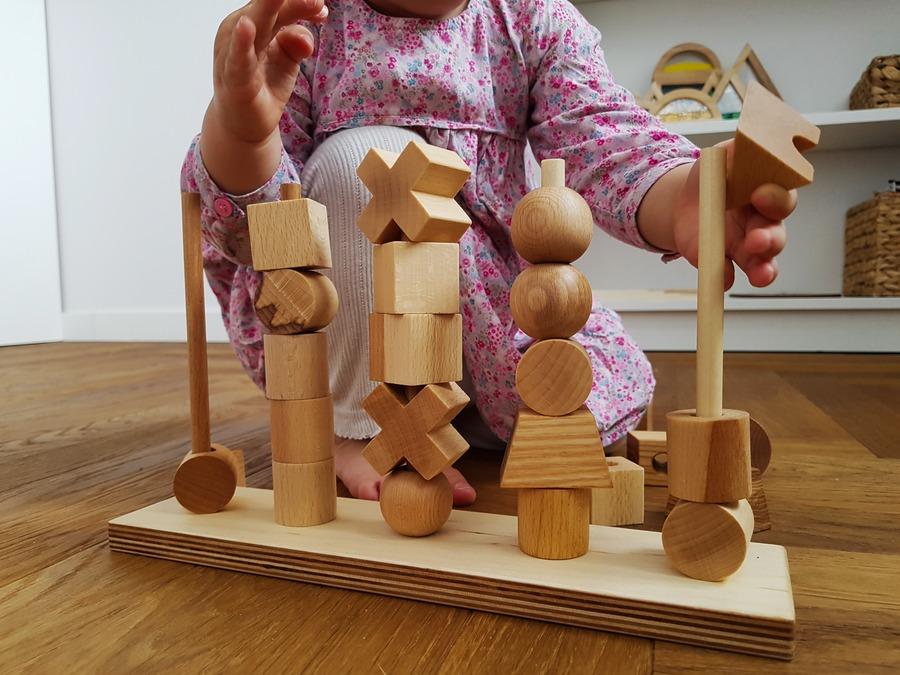 drewniana układanka wooden story
