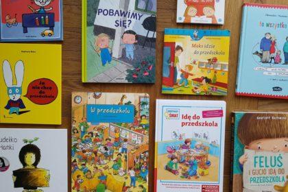 książki dla dzieci w przedszkolu adaptacja