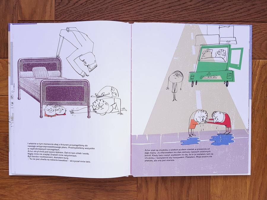 książki dla dzieci o emocjach i uczuciach - nie mój dom