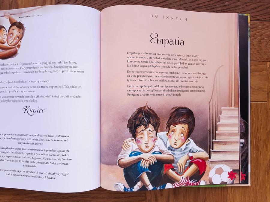 książki dla dzieci o emocjach i uczuciach - wielka księga emocji