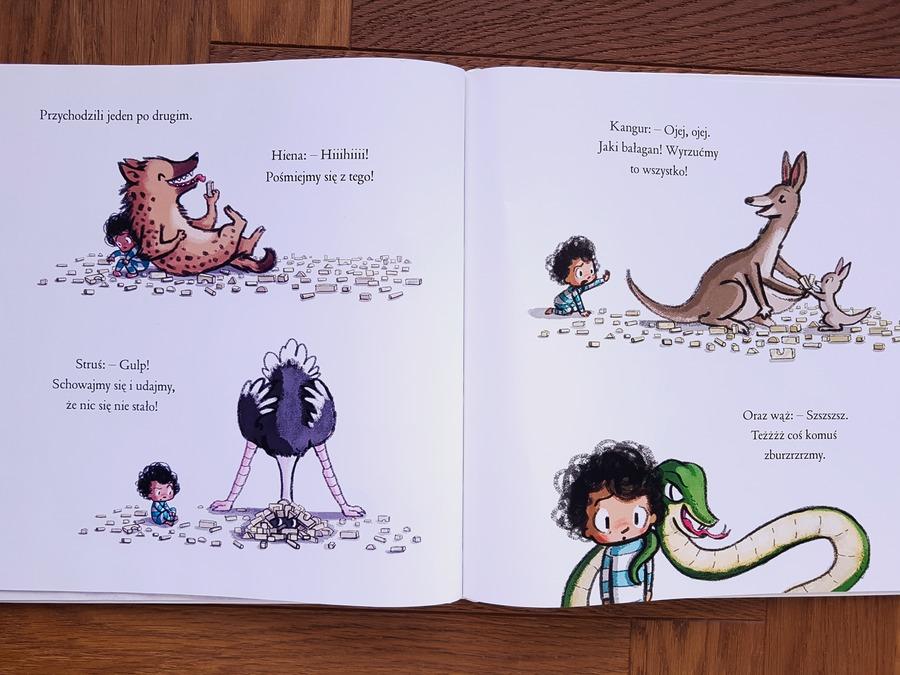 książki dla dzieci o emocjach i uczuciach - a królik słuchał