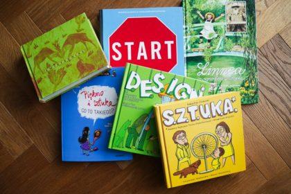 książki dla dzieci o sztuce
