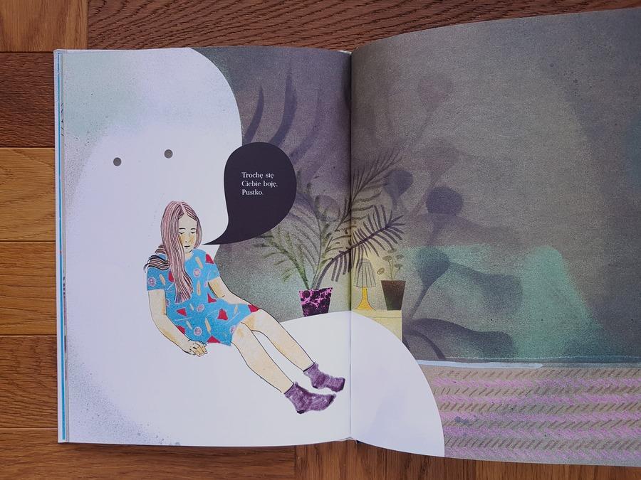 książki dla dzieci o emocjach i uczuciach - pustka