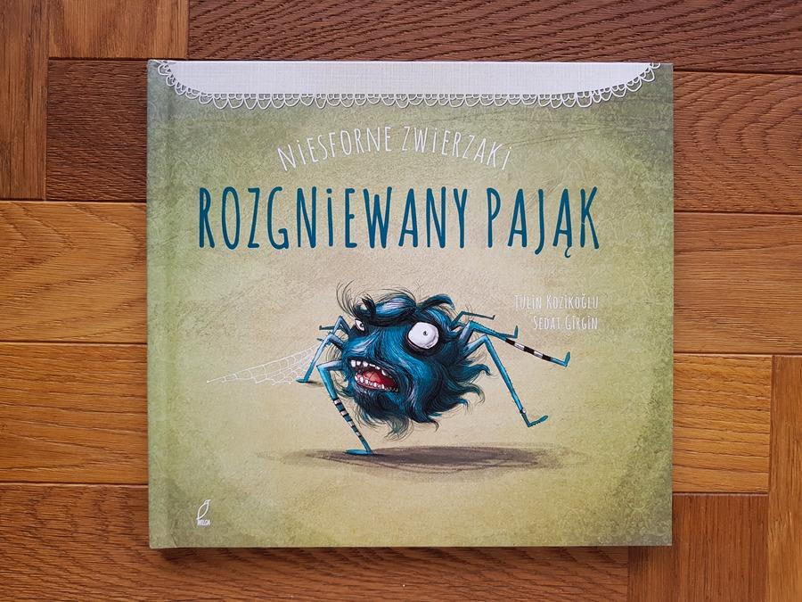 rozgniewany pająk - książki o emocjach dla dzieci