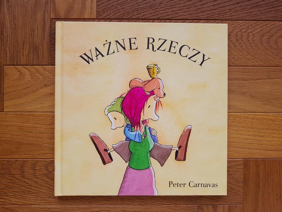 ważne rzeczy - książki dla dzieci o emocjach i uczuciach