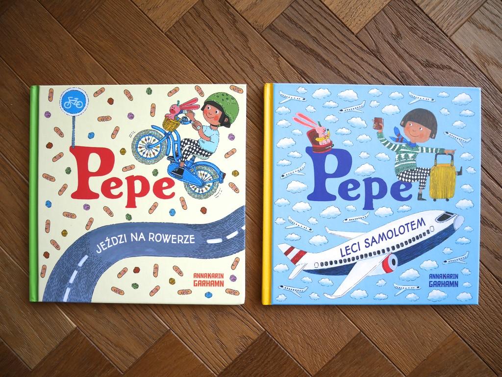 książki dla dzieci o pepe