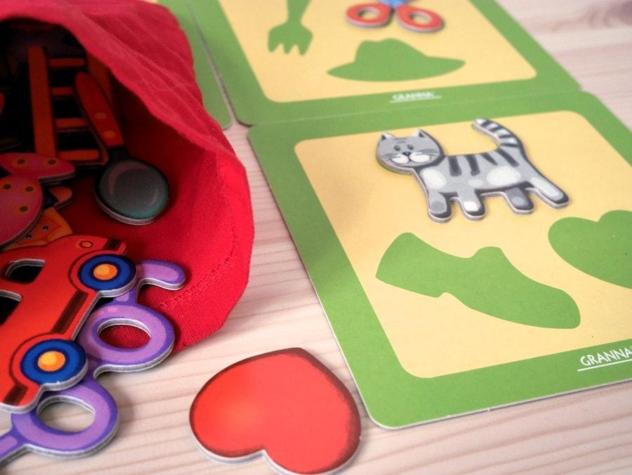 kot w worku gra dla 3-latka
