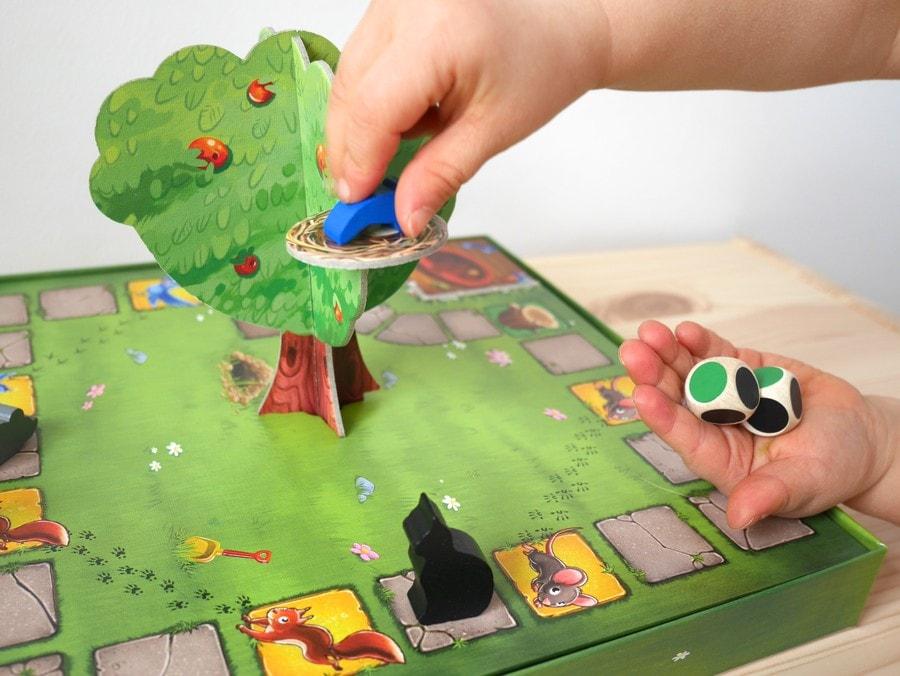 gra dla 3 latków kotek psotek