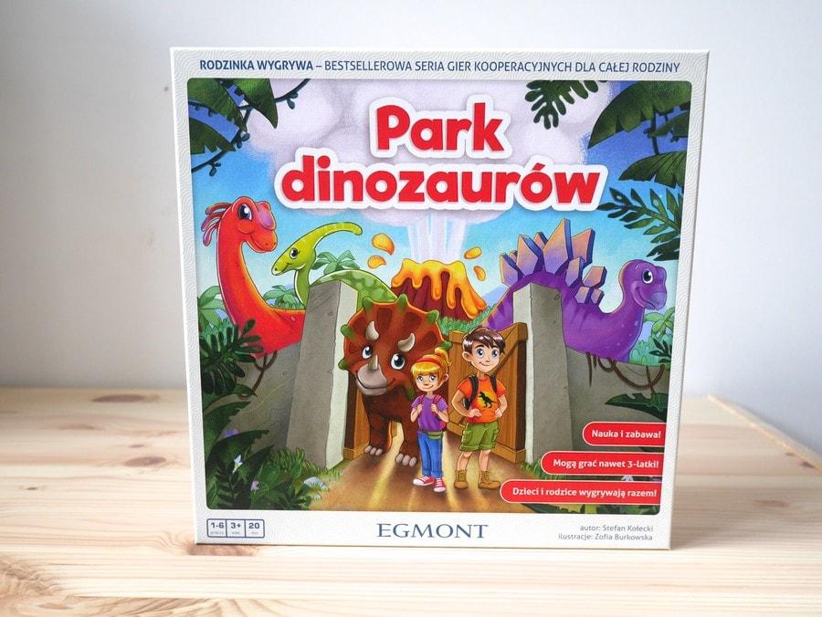 park dinozaurów gra 3 lata