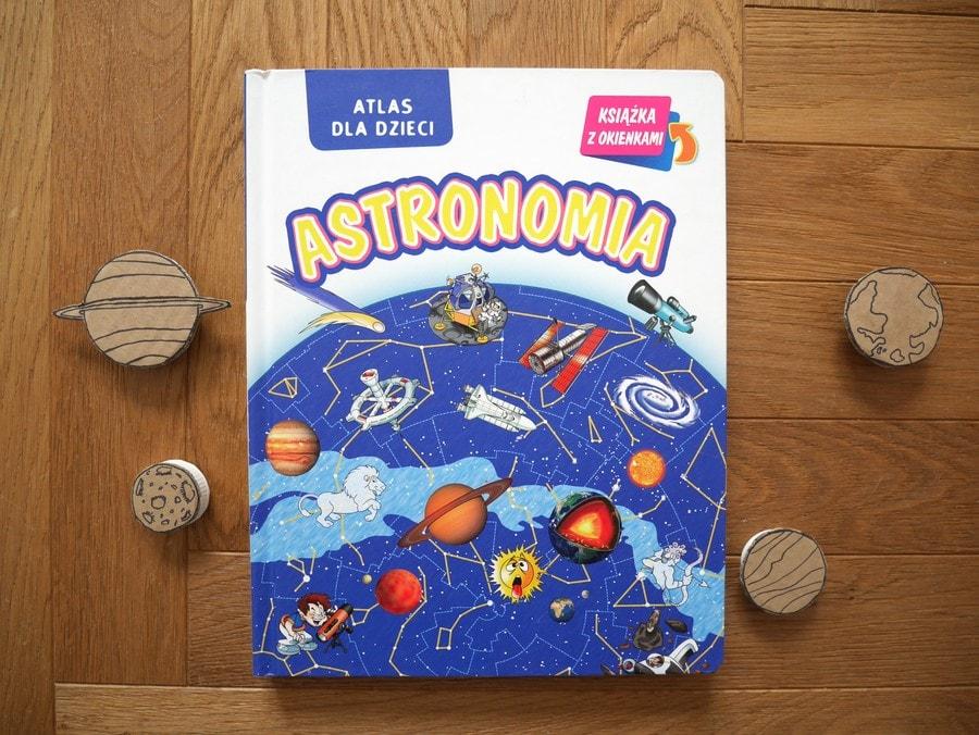 astronomia atlas dla dzieci - książki o kosmosie dla dzieci