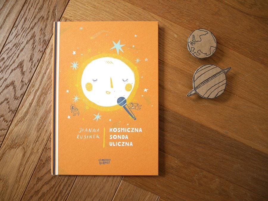 kosmiczna sonda uliczna - książki o kosmosie dla dzieci