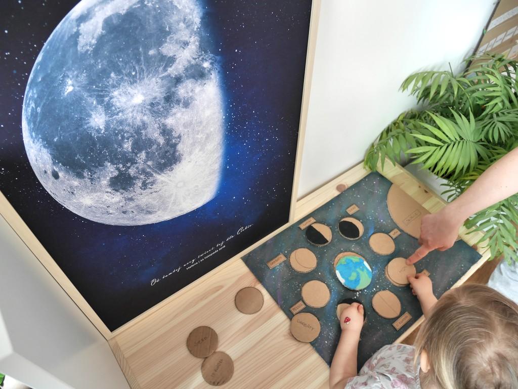 księżyc dla dzieci
