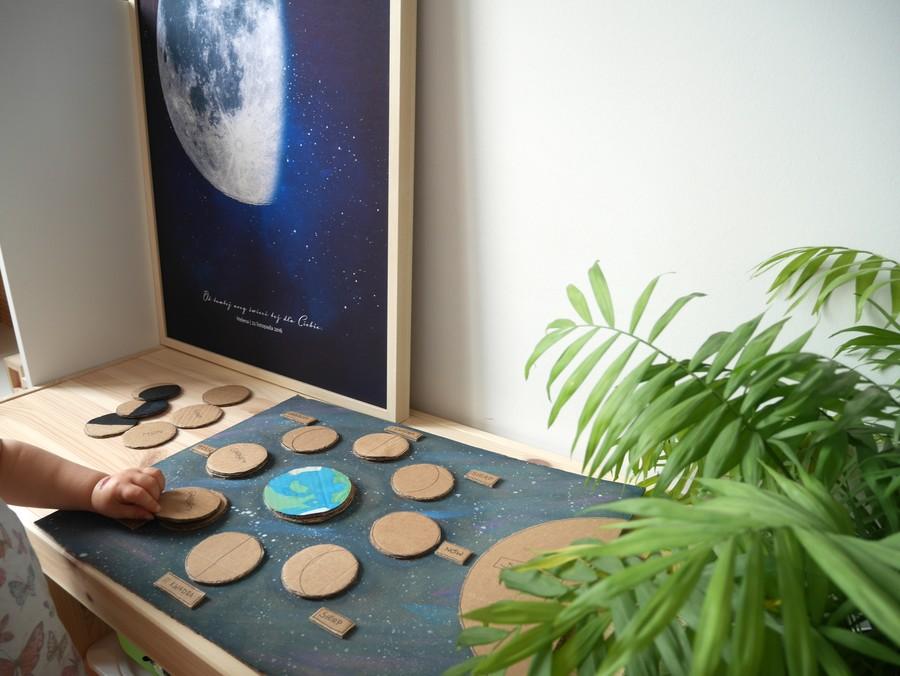 księżyc dla dzieci układanka