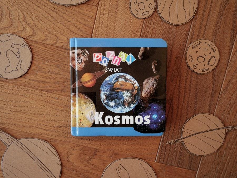 poznaj świat kosmos - książki o kosmosie dla dzieci