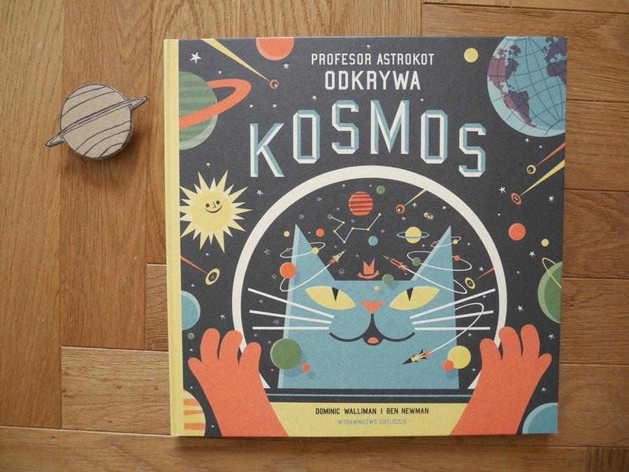 książki o kosmosie dla dzieci - profesor astrokot odkrywa kosmos