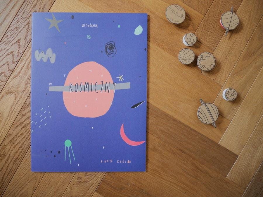 wytwórnik kosmiczny - książki o kosmosie dla dzieci